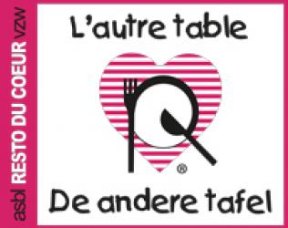 L'autre table, Resto du Coeur de Laeken